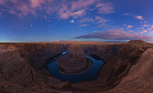 colorado-fiume-horseshoe-canyon-foto