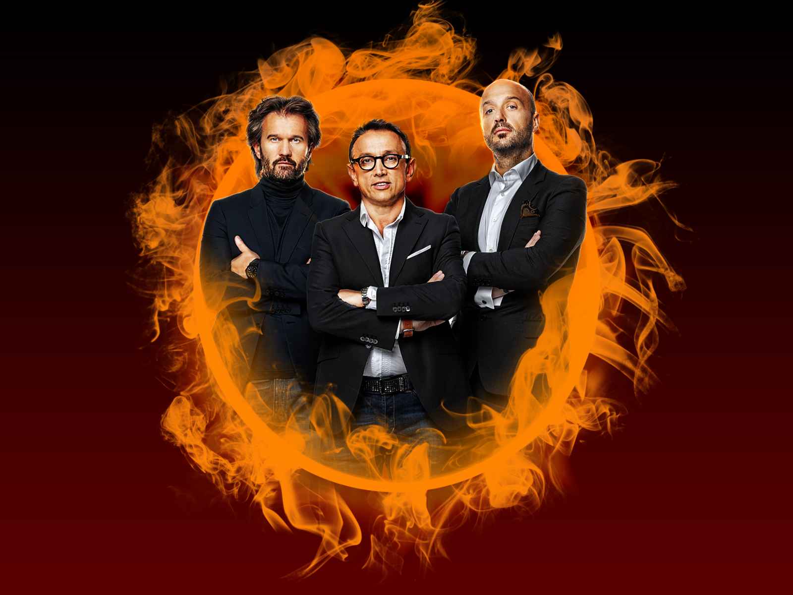 Carlo Cracco,Bruno Barbieri, Joe Bastianich, masterchef