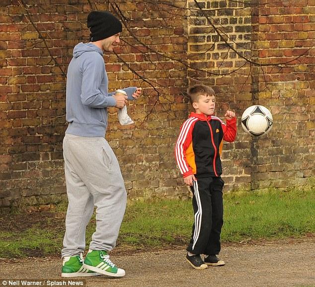 David Beckham, mammo
