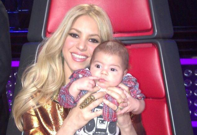 Shakira-figlio