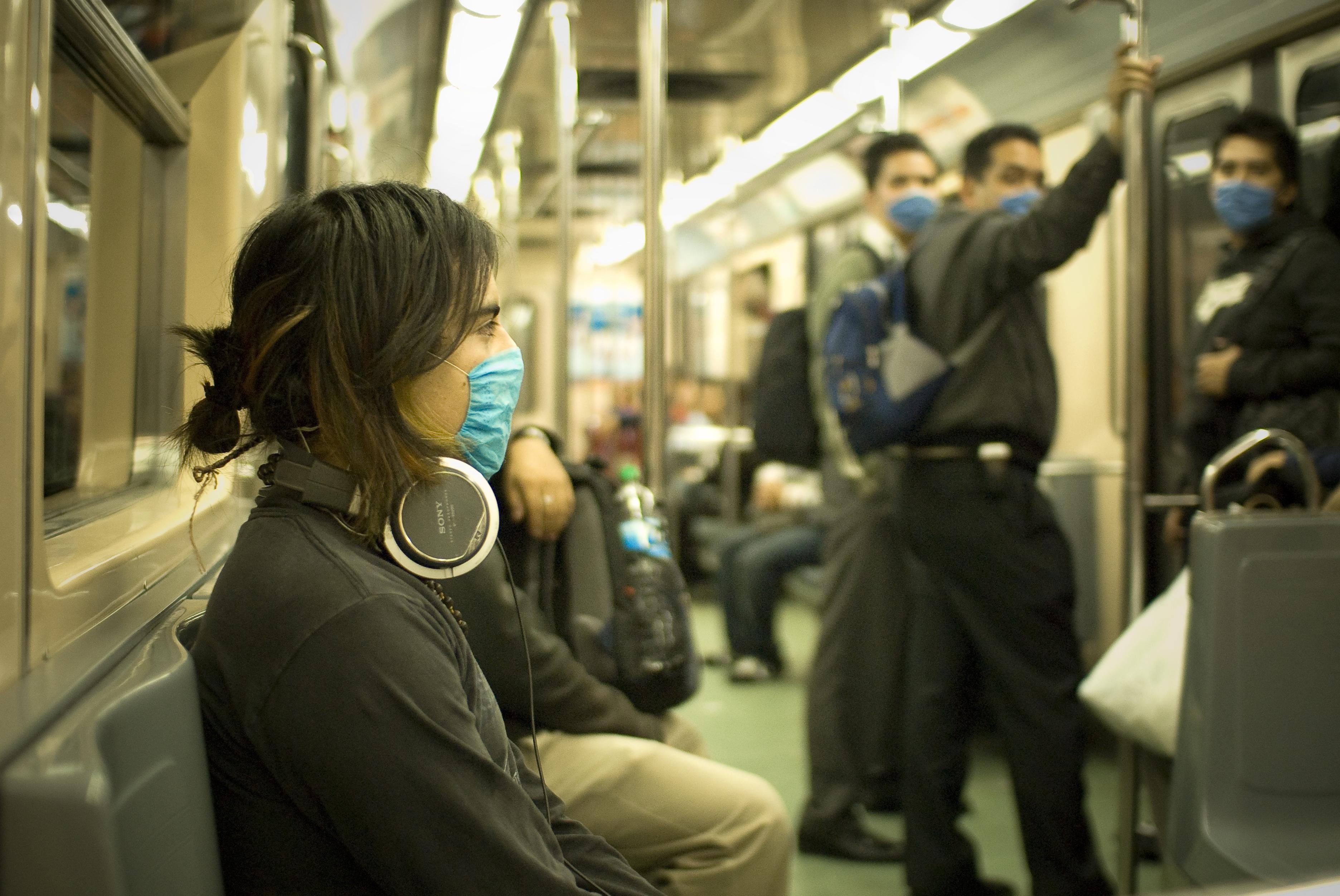 metropolitana, polvere, tossica