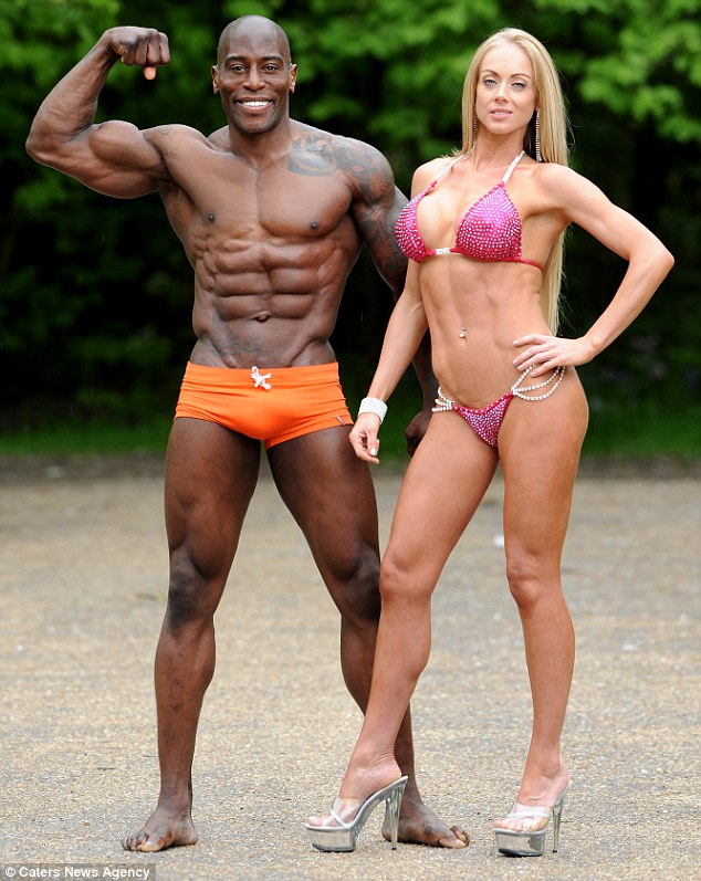 Rosanna Beckett, Don Akim, bodybuilding