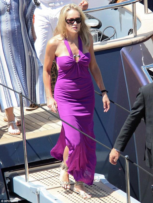 festival di Cannes, Roberto Cavalli, Sharon Stone 1