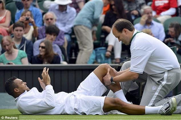 Wimbledon, infortuni tennis