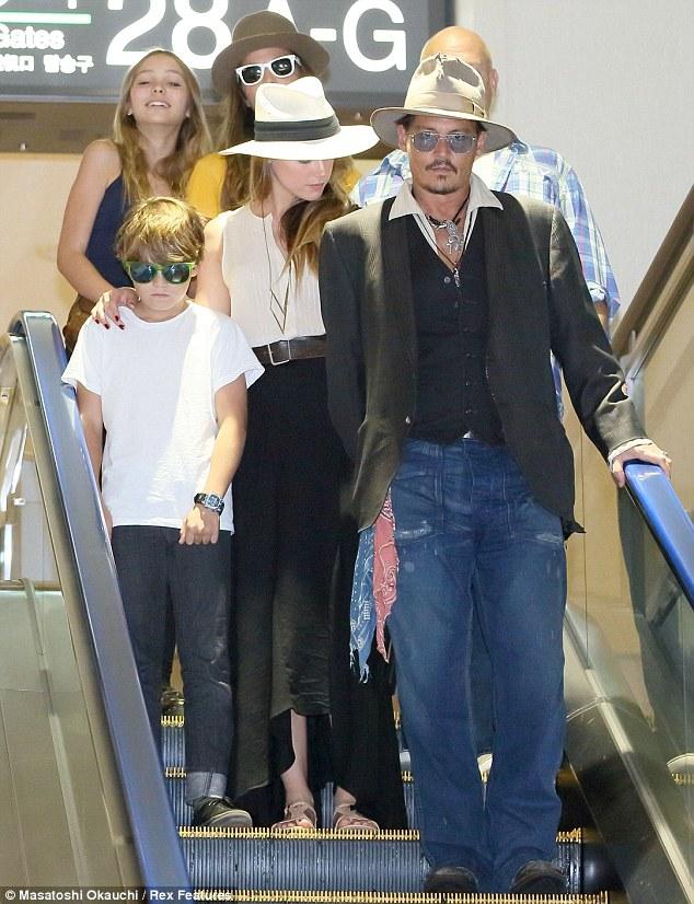 Johnny Depp, Amber Heard 2