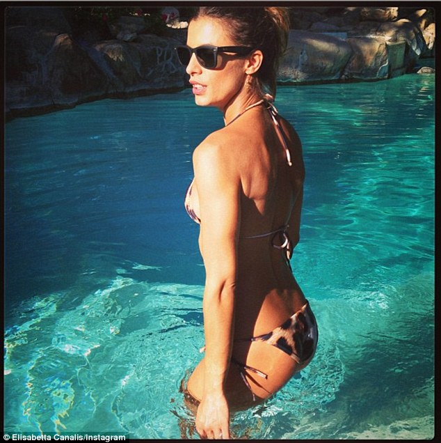 Elisabetta Canalis lato b 2