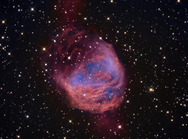 foto-nebulosa-medusa-spazio