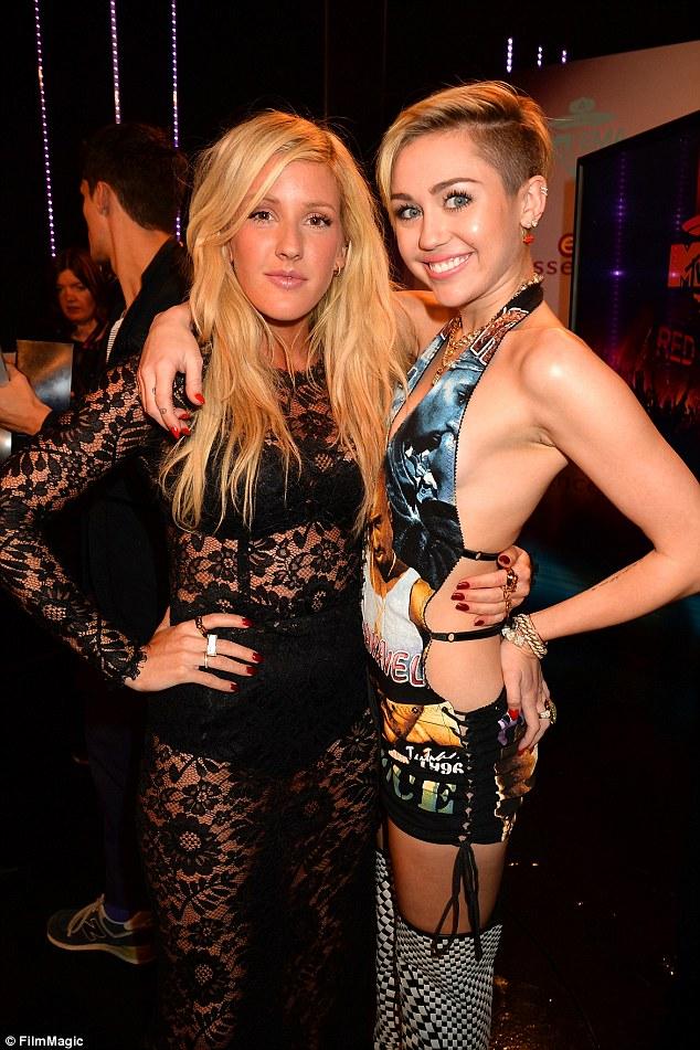 Ellie Goulding, Miley Cyrus, MTV Music Awards