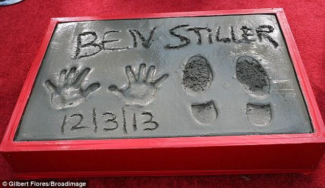 Ben Stiller, Walk of Fame