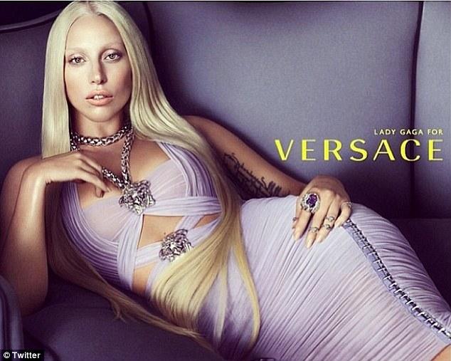 Donatella Versace, Lady Gaga