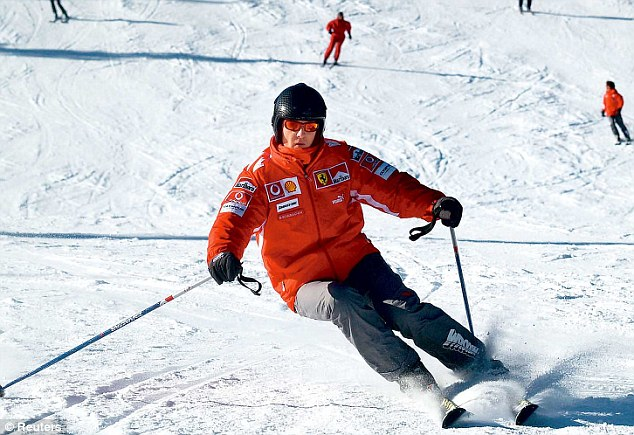 Michael Schumacher, coma