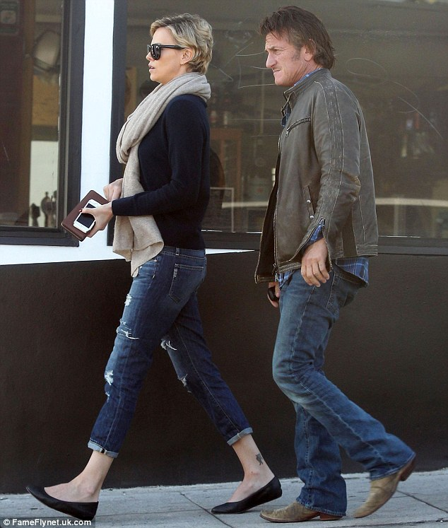 Sean Penn, Charlize Theron 2