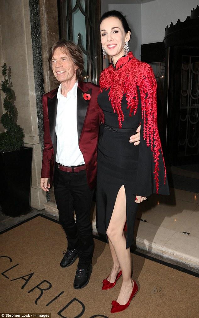 Mick Jagger, L'Wren Scott impiccata suicidio 01