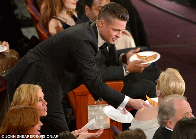 Oscar, star, pizza