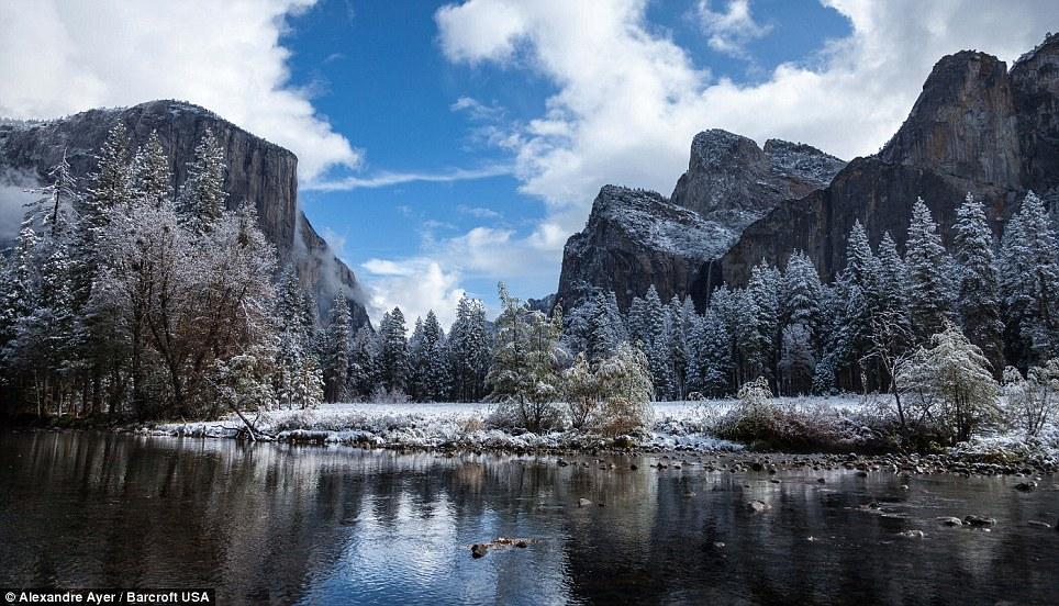 06 - America, paesaggi parco nazionale di Yosemite, in California,