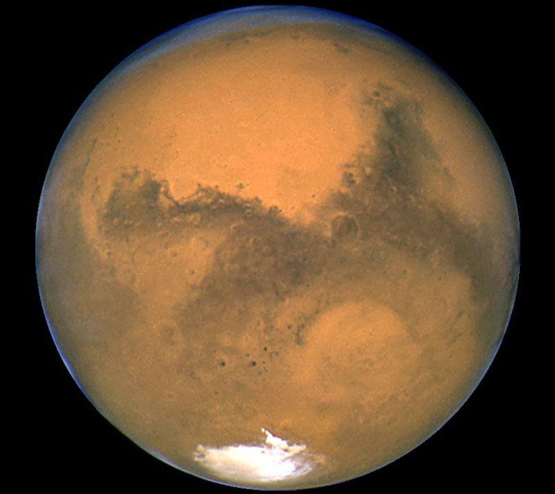 Marte, nasa