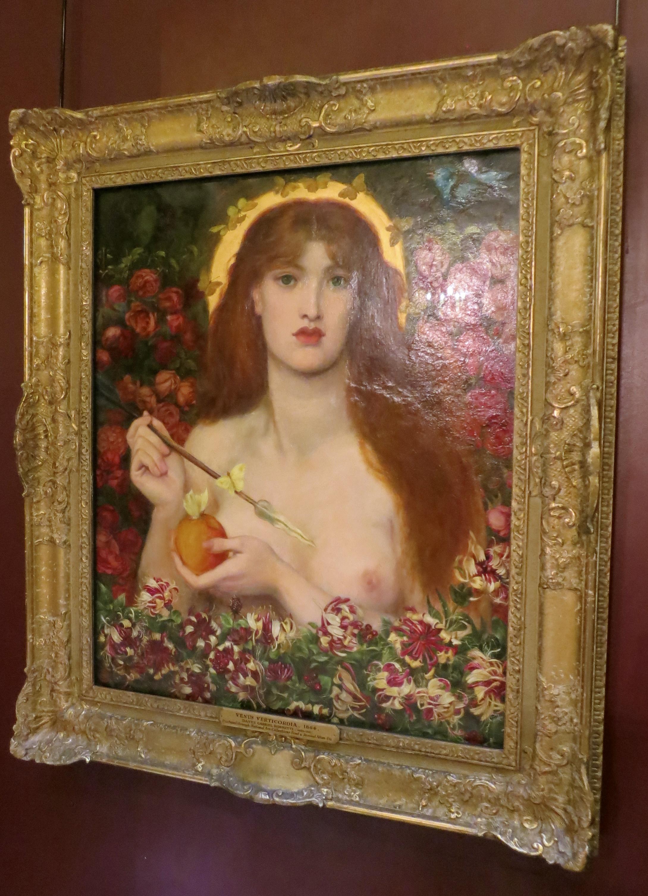 Venere all'asta: il Rossetti immorale della Venere che apre i cuori andrà in vendita da Sotheby's