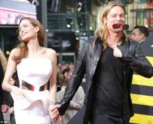 Brad Pitt e Angiolina Jolie, radiosi a Berlino, festeggiano il compleanno di Angie con tutta la nidiata