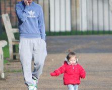 David Beckham il mammo perfetto: guarda le immagini