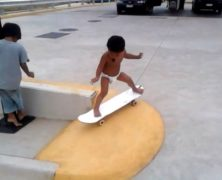 Kahlei Stone-Kelli, skater a soli 2 anni: guarda l'incredibile video