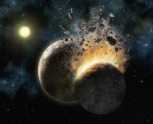 La luna nacque così: dopo una collisone della Terra con un misterioso corpo celeste