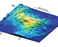 Scoperto il vulcano più esteso della Terra: è grande come l'Italia!