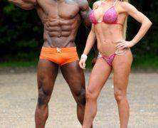 Guarda le foto di Mister e Missis Muscolo: la coppia di fidanzati campioni del mondo di culturismo