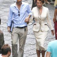 Il grande ritorno di Sofia Loren sul set a settantotto anni. Guarda le foto sul set del film di suo figlio
