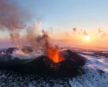 le spettacolari immagini, interattive a 360 gradi dell'eruzione del vulcano Tolbachik