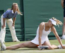 Cadute rovinose a Wimbledon. Sette tennisti fuori per infortunio: un record. Le immagini