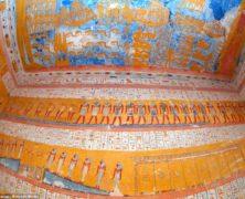 Guarda le straordinarie immagini della tomba del faraone egizio Ramsete IV, fotografate eccezionalmente con il flash