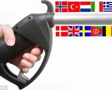 Lo scandalo dei prezzi folli della benzina: l'Italia è addirittura quarta al mondo! Confronta la classifica