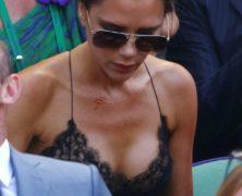 Victoria Beckham riscopre il suo lato sexy alla finale di Wimbledon dove trionfa Andy Murray
